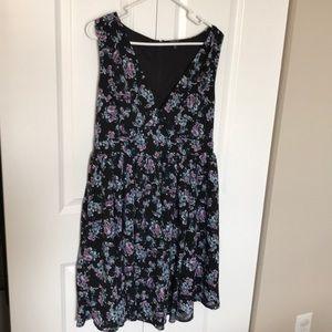 Floral Torrid Dress - Size 14